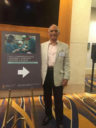 The university president's assistant for scientific affairs           attended a surgical course in United State of America