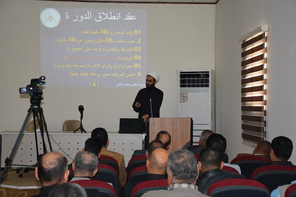 Jabir ibn Hayyan Medical University organizes session  about  the role of health education in promoting society