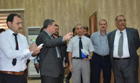 A ministerial committee inspects the infrastructure of the University for establishing the Faculty of Clinical Pharmacy