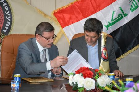 Jabir Ibn Hayyan Medical University signs a cooperation agreement with Shiraz University of Medical sciences