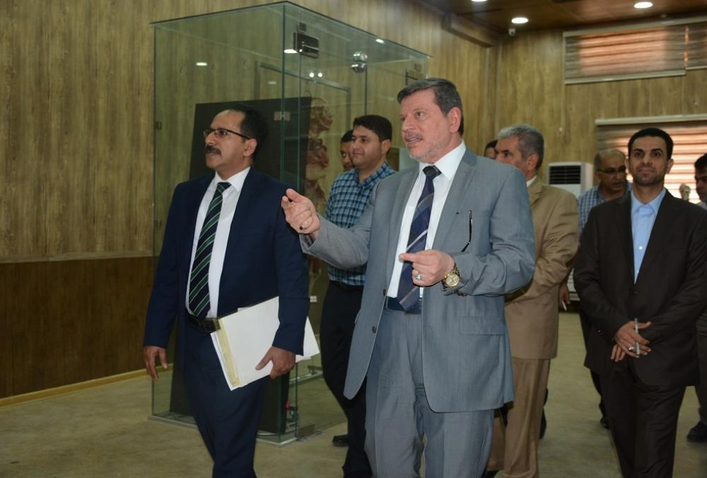 A ministerial  committee inspects the University infrastructure for instituting  Faculty of Pharmacy