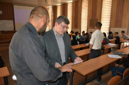 President of the university inspects the studying halls with the beginning of the academic year (2016-2017)