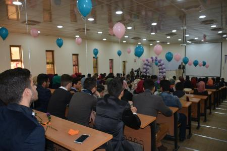 First year students of the Faculty of Medicine set up a party to get acquainted to each other