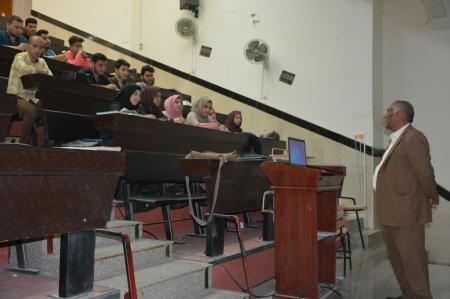 The community medicine department  organizes a lecture about  the international Day for Tuberculosis