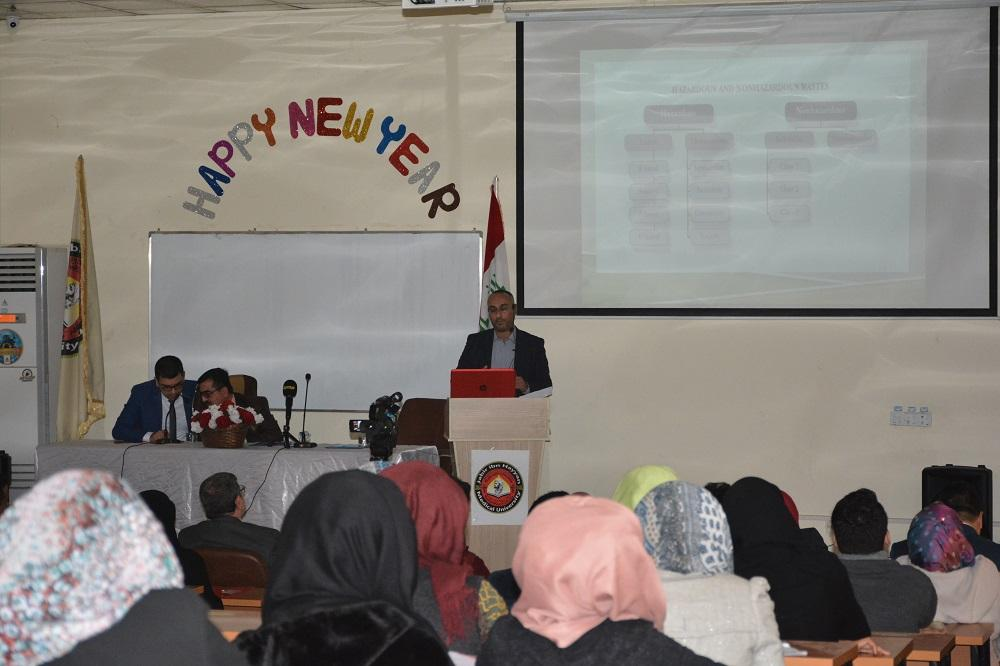 The Faculty of Medicine organizes seminar about the management of biological risks and safety