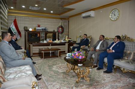 President of the University receives the minister deputy of Culture