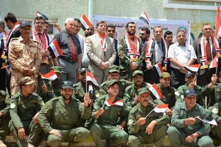 Jabir Ibn Hayyan Medical University organizes a ceremony to celebrate the victory against ISIS