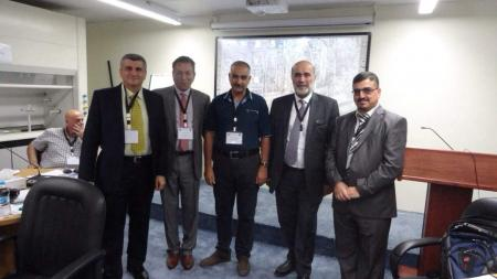 The director of continuous teaching department participates in a workshop in Jordan