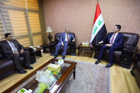 President of the University meets the Minister of Planning