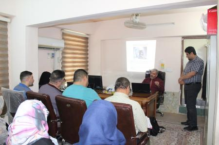 The presidency of the University organizes course about the competency of computer and IT information security
