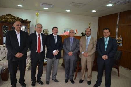 Jabir ibn Hayyan University aims to Review and Upgrade its Curriculum with the Imperial College (London)