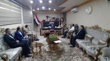 President of the University receives delegation from Holy Shrine of Imam Ali (peace be upon him)
