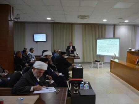 Vice-chancellor for administrative affairs participates in seminar about the risks of drug addiction