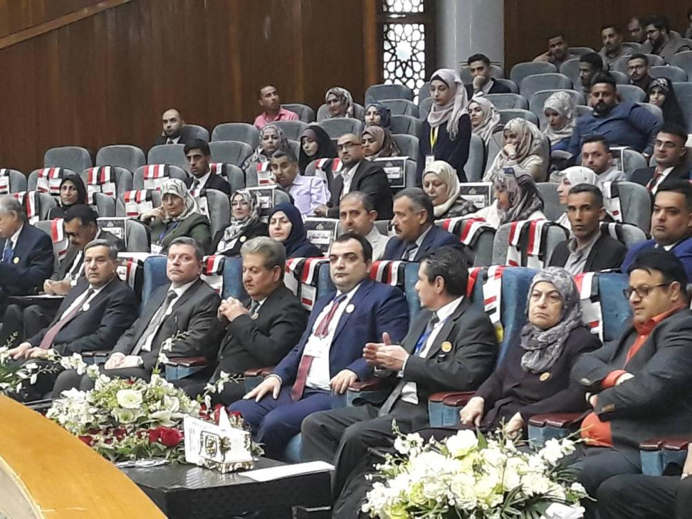 President of the University attends the first international scientific conference for Dentistry sciences