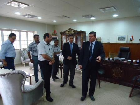 The President of the University Set off for the United States in a Scientific Visit