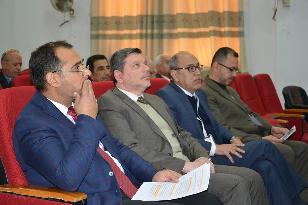 President of the university and vice-president for scientific affairs attend the sixth international scientific seminar