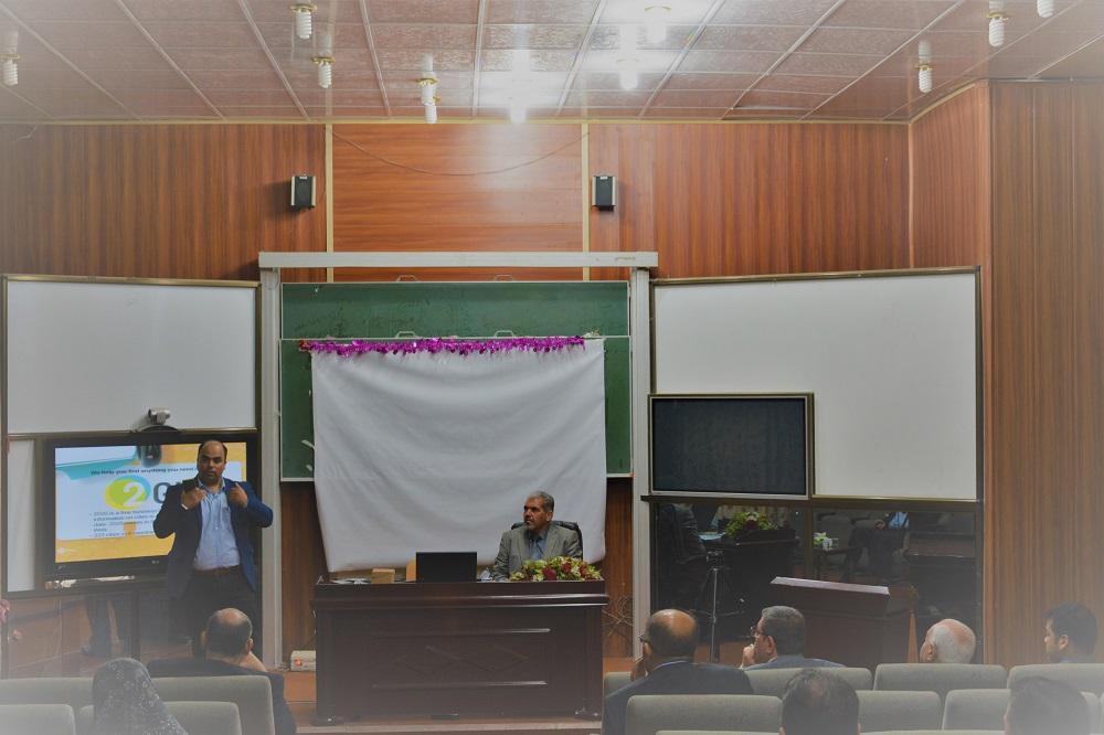 The department of physiology and medical physics organizes a workshop about the Global positioning System