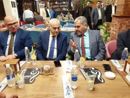 President of the University meets the Lebanese minister of Health