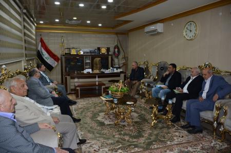 President of the University receives  an academic medical Lebanese delegation